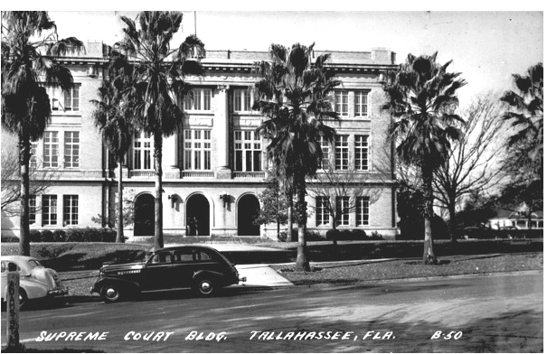 1937 Whitfield Bldg - Florida's first supreme court building (later called the Whitfield Building), home to the supreme court from 1912 to 1949. (State Archives of FL)