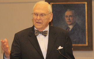 Former Chief Justice Major Harding
