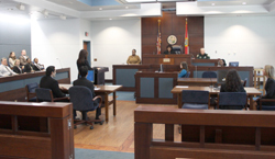 Trial Court courtroom