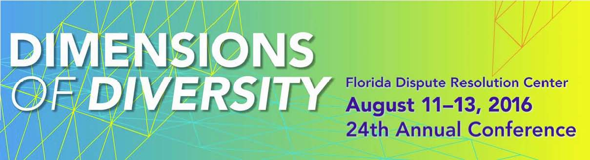 24th Annual DRC Conference Dimensions of Diversity August 11-13, 2016