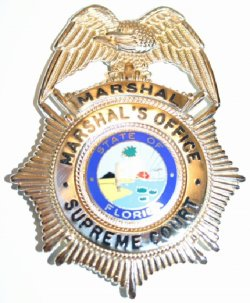 Current Marshal's Badge