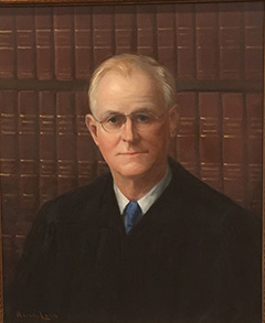 Justices of the Florida Supreme Court - Justice Ben F  Overton